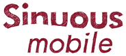 Sinuous mobile logo